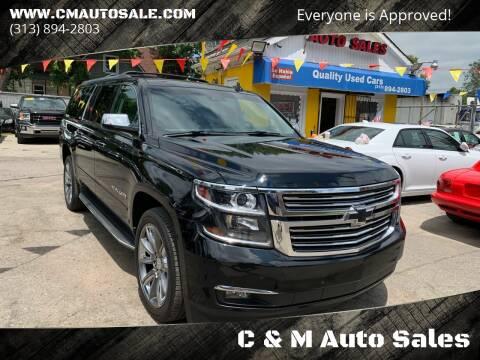 2016 Chevrolet Suburban for sale at C & M Auto Sales in Detroit MI