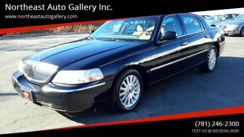 2004 Lincoln Town Car for sale at Northeast Auto Gallery Inc. in Wakefield Ma MA
