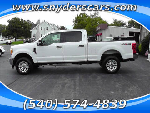 2017 Ford F-250 Super Duty for sale at Snyders Auto Sales in Harrisonburg VA