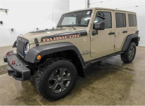 2018 Jeep Wrangler JK Unlimited for sale at Torgerson Auto Center in Bismarck ND