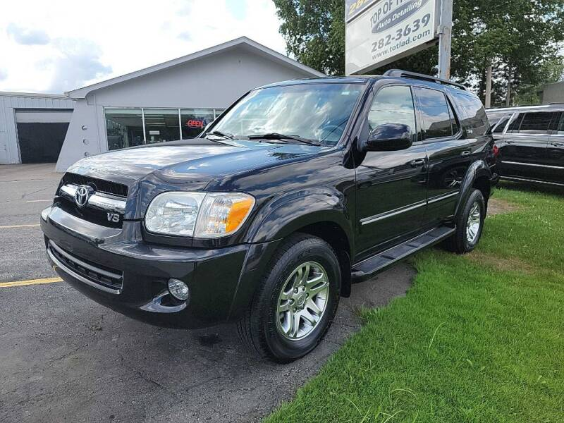 2005 Toyota Sequoia for sale at Lakeshore Auto Wholesalers in Amherst OH