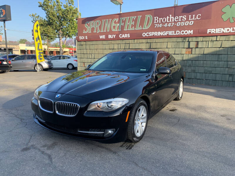 2011 BMW 5 Series for sale at SPRINGFIELD BROTHERS LLC in Fullerton CA