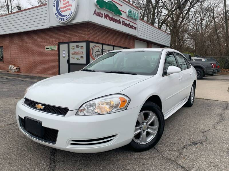2015 Chevrolet Impala Limited for sale at GMA Automotive Wholesale in Toledo OH