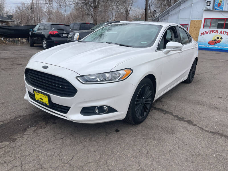 2013 Ford Fusion for sale at Mister Auto in Lakewood CO