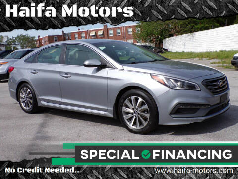 2015 Hyundai Sonata for sale at Haifa Motors in Philadelphia PA