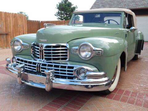 1947 Lincoln Continental for sale at Classic Car Deals in Cadillac MI