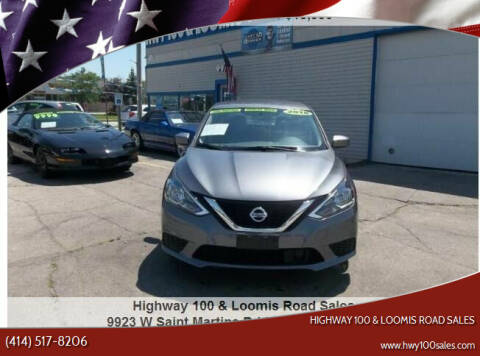 2018 Nissan Sentra for sale at Highway 100 & Loomis Road Sales in Franklin WI