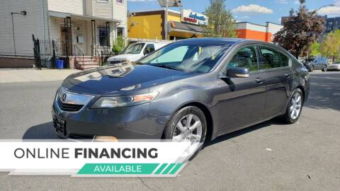 2013 Acura TL for sale at JOANKA AUTO SALES in Newark NJ