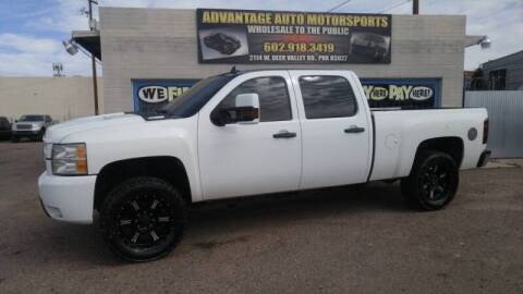2008 Chevrolet Silverado 2500HD for sale at Advantage Motorsports Plus in Phoenix AZ
