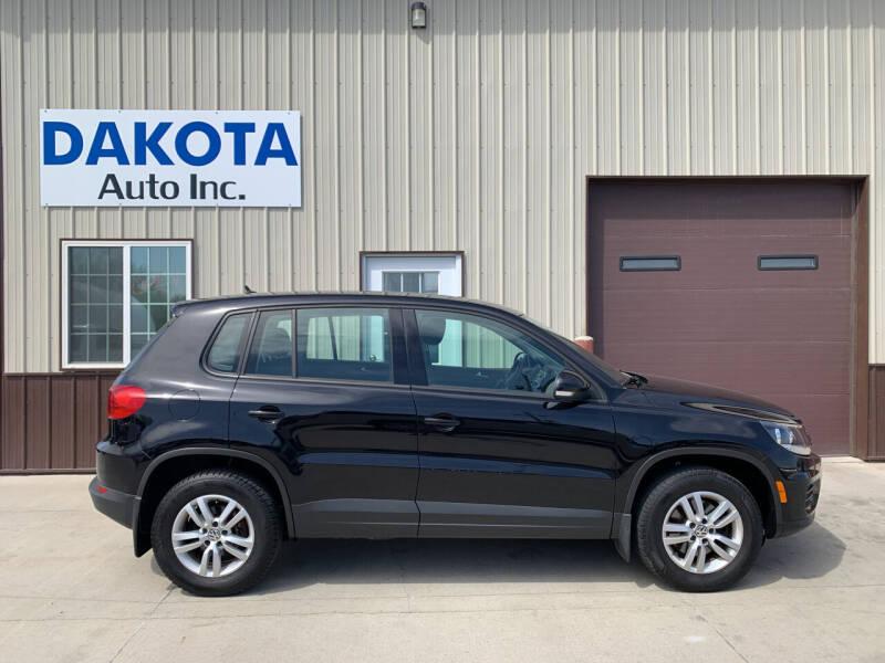2013 Volkswagen Tiguan for sale at Dakota Auto Inc. in Dakota City NE