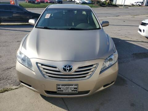 2007 Toyota Camry for sale at Straightforward Auto Sales in Omaha NE