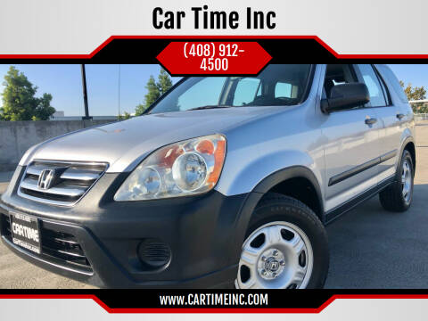 2006 Honda CR-V for sale at Car Time Inc in San Jose CA
