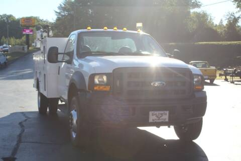 2007 Ford F-550 Super Duty for sale at Baldwin Automotive LLC in Greenville SC