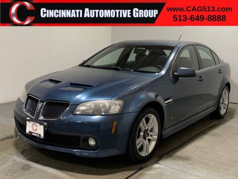 2009 Pontiac G8 for sale at Cincinnati Automotive Group in Lebanon OH
