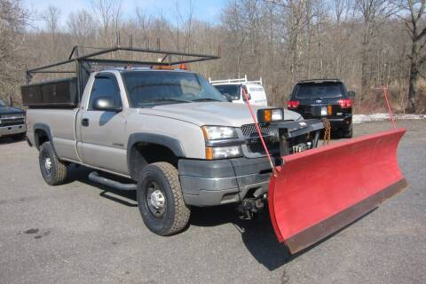 2004 Chevrolet Silverado 2500HD for sale at K & R Auto Sales,Inc in Quakertown PA
