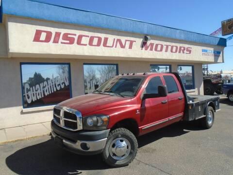 2006 Dodge Ram Pickup 3500 for sale at Discount Motors in Pueblo CO