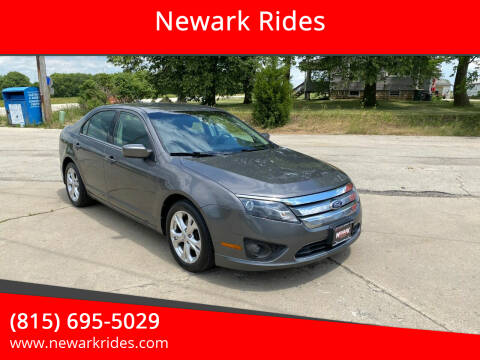 2012 Ford Fusion for sale at Newark Rides in Newark IL