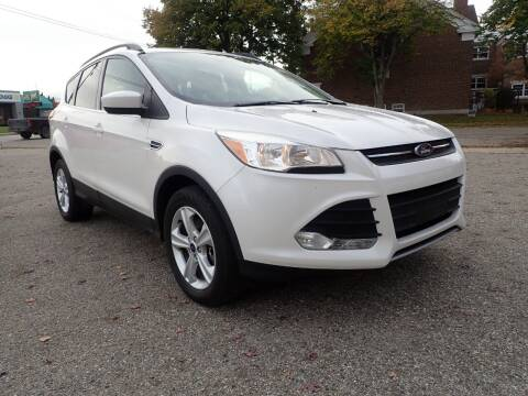 2016 Ford Escape for sale at Marvel Automotive Inc. in Big Rapids MI