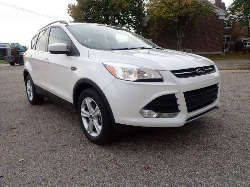 2016 Ford Escape for sale at Marvel Automotive Inc. in Big Rapids MI