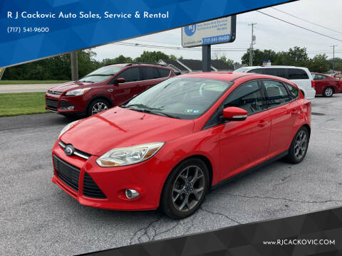 2014 Ford Focus for sale at R J Cackovic Auto Sales, Service & Rental in Harrisburg PA