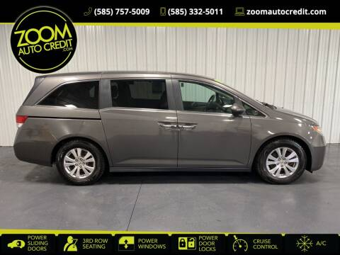 2014 Honda Odyssey for sale at ZoomAutoCredit.com in Elba NY