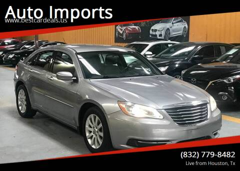 2013 Chrysler 200 for sale at Auto Imports in Houston TX