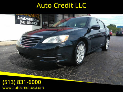 2011 Chrysler 200 for sale at Auto Credit LLC in Milford OH