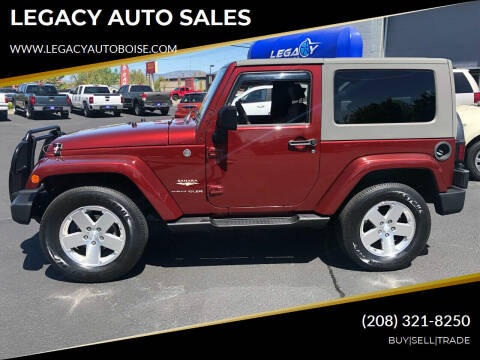 2008 Jeep Wrangler for sale at LEGACY AUTO SALES in Boise ID