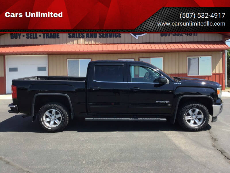 2014 GMC Sierra 1500 for sale at Cars Unlimited in Marshall MN