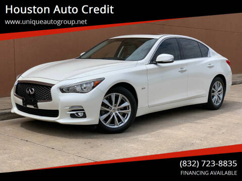 2016 Infiniti Q50 for sale at Houston Auto Credit in Houston TX