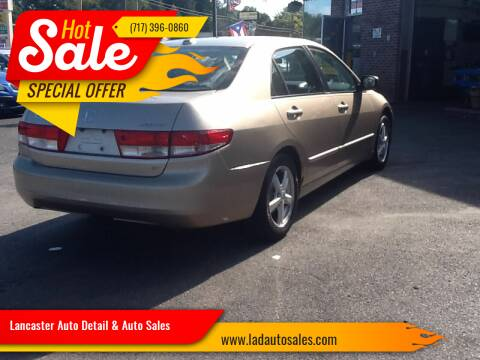 2004 Honda Accord for sale at Lancaster Auto Detail & Auto Sales in Lancaster PA