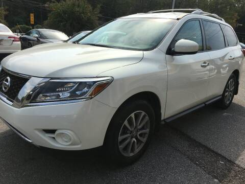 2014 Nissan Pathfinder for sale at Highlands Luxury Cars, Inc. in Marietta GA