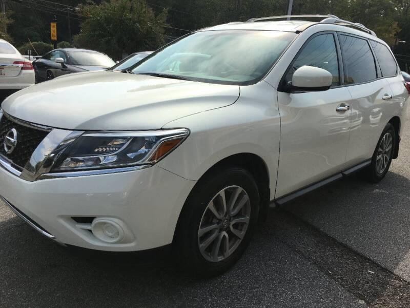 2014 Nissan Pathfinder for sale at Highlands Luxury Cars, Inc. in Marietta GA