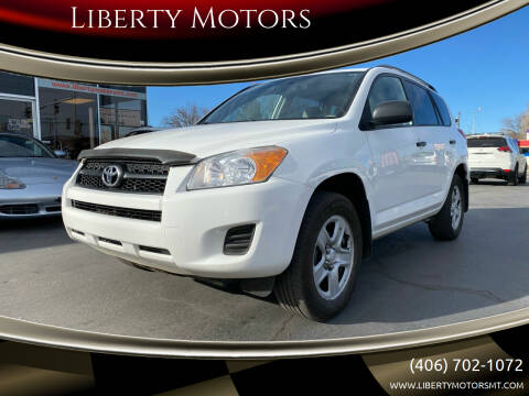 2012 Toyota RAV4 for sale at Liberty Motors in Billings MT