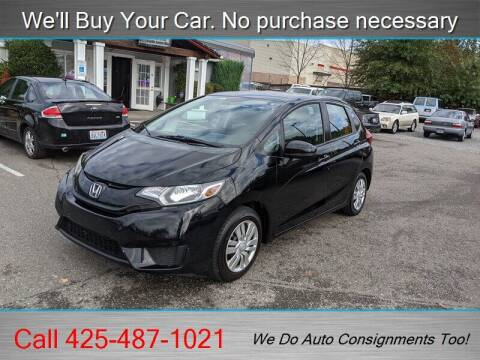 2015 Honda Fit for sale at Platinum Autos in Woodinville WA