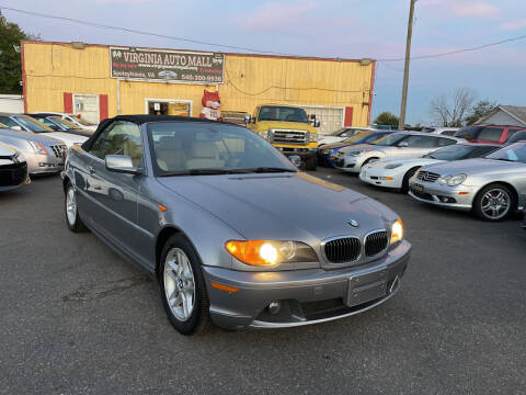 2004 BMW 3 Series for sale at Virginia Auto Mall in Woodford VA