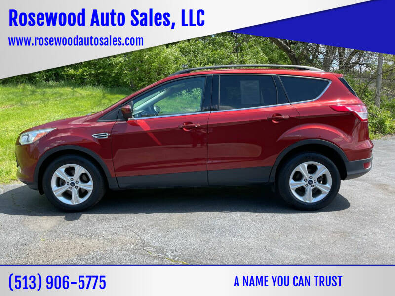 2016 Ford Escape for sale at Rosewood Auto Sales, LLC in Hamilton OH