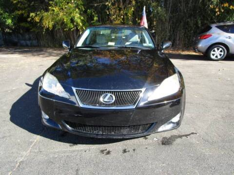 2009 Lexus IS 250 for sale at FIRST CLASS AUTO in Arlington VA