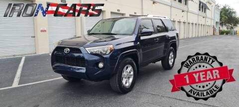2014 Toyota 4Runner for sale at IRON CARS in Hollywood FL