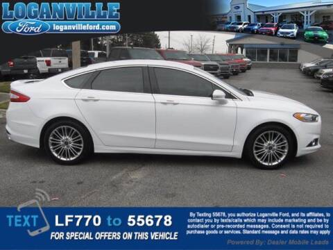 2016 Ford Fusion for sale at Loganville Ford in Loganville GA