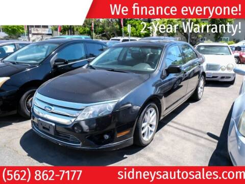 2012 Ford Fusion for sale at Sidney Auto Sales in Downey CA