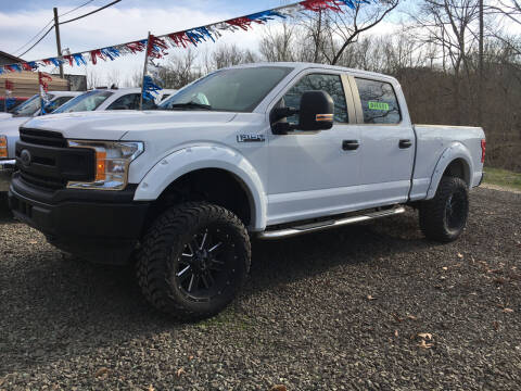 2018 Ford F-150 for sale at DONS AUTO CENTER in Caldwell OH