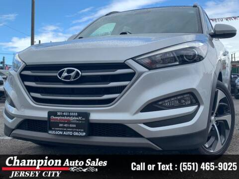 2018 Hyundai Tucson for sale at CHAMPION AUTO SALES OF JERSEY CITY in Jersey City NJ