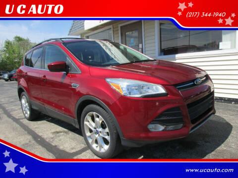 2013 Ford Escape for sale at U C AUTO in Urbana IL