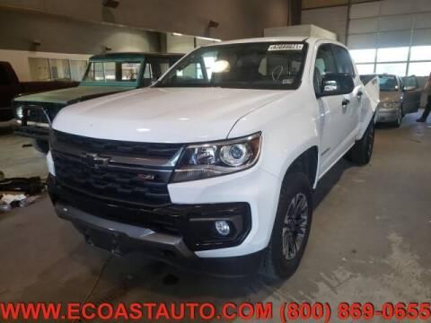 2021 Chevrolet Colorado for sale at East Coast Auto Source Inc. in Bedford VA