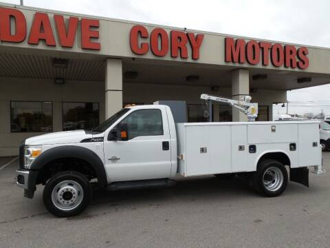 2016 Ford F-450 Super Duty for sale at DAVE CORY MOTORS in Houston TX