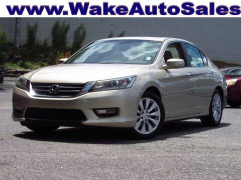 2013 Honda Accord for sale at Wake Auto Sales Inc in Raleigh NC