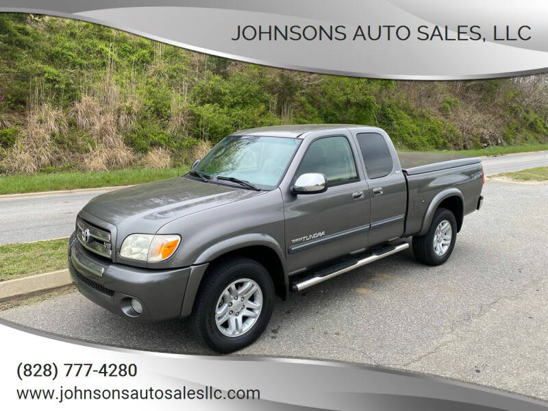 2005 Toyota Tundra for sale at Johnsons Auto Sales, LLC in Marshall NC