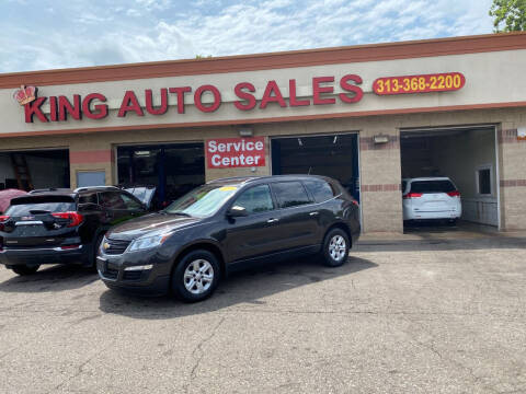 2017 Chevrolet Traverse for sale at KING AUTO SALES  II in Detroit MI