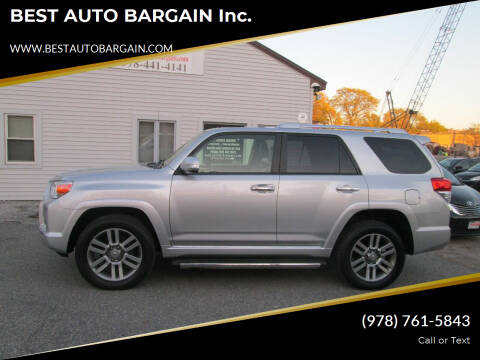 2013 Toyota 4Runner for sale at BEST AUTO BARGAIN inc. in Lowell MA